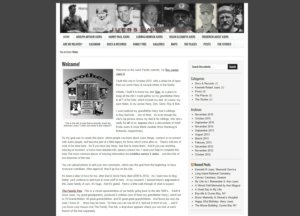JuersFamily.com Screenshot