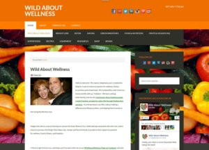 WildAboutWellness.net Screenshot